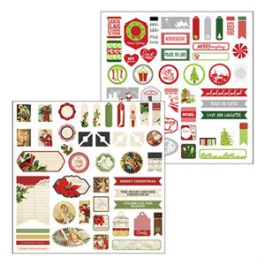 Picture of Christmas Joy Accent Stickers