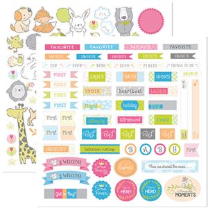 Picture of Beautiful Baby Stackable Stickers